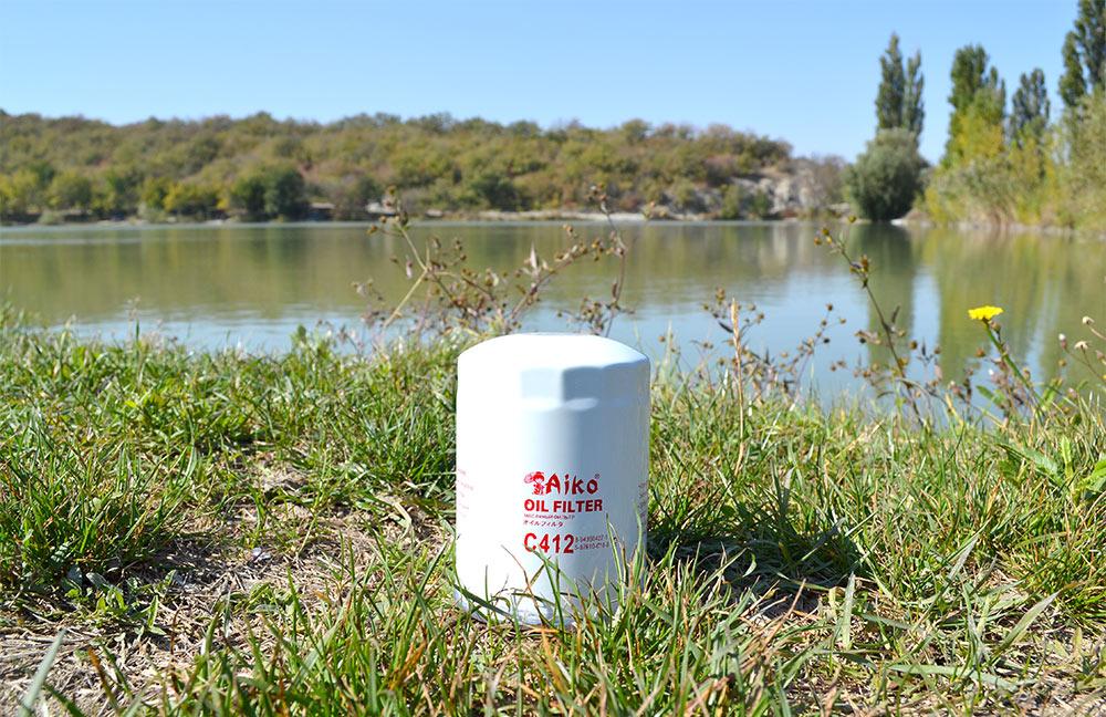 Экология фильтр маслянный Aiko